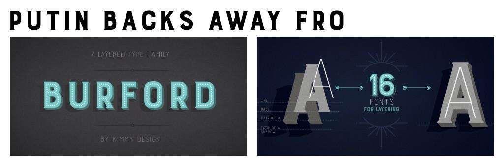 2016 Fonts Custom