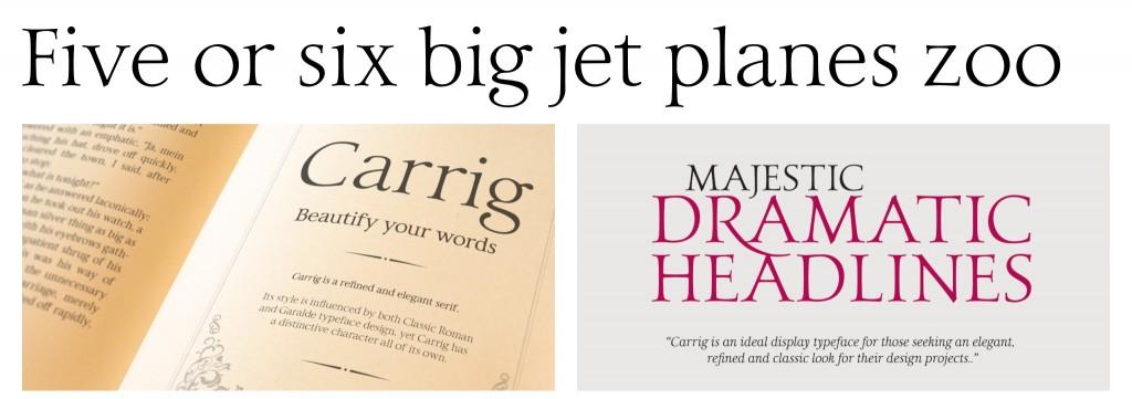 2016 Fonts Serif